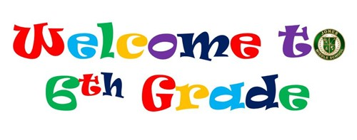 Image result for welcome 6th graders