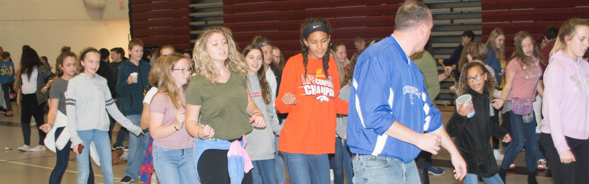 Mr. Ritchie doing the Cupid Shuffle