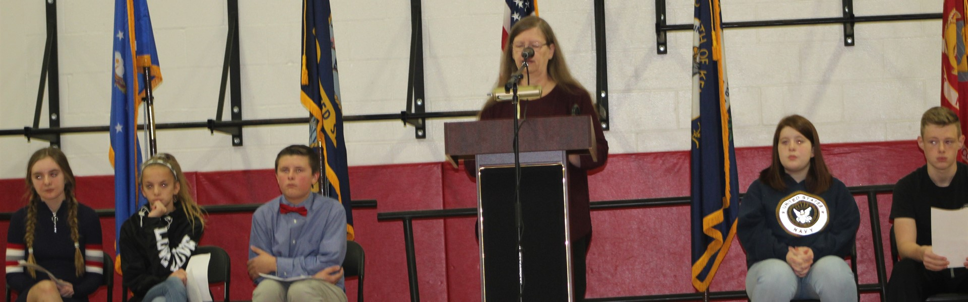 speech during veterans day