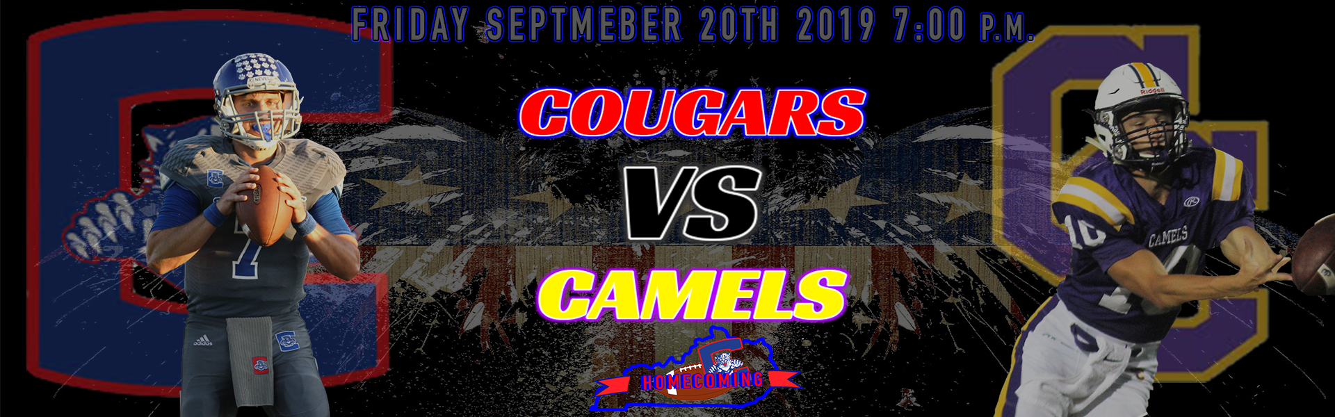 COUGARS TAKE ON THE CAMELS ON CONNER GROUND