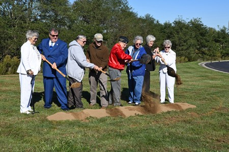 Gold Star ground breaking