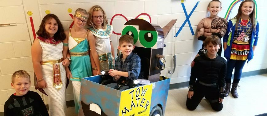 odyssey of the mind team created costume