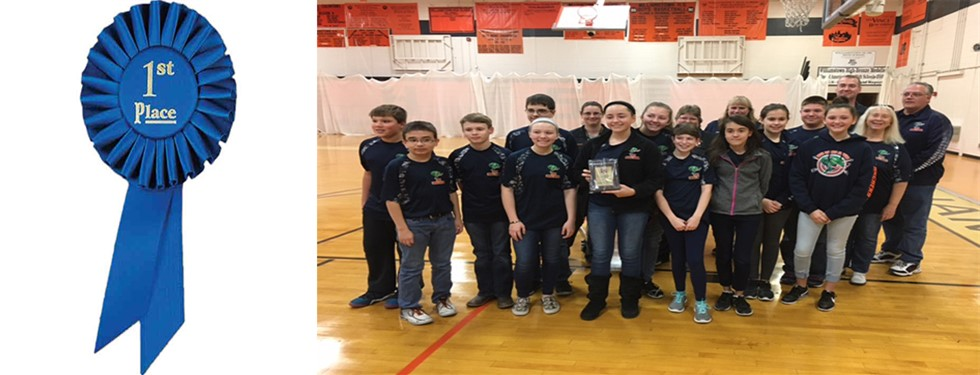 Archery 1st Place Winners in Williamstown Tournament.