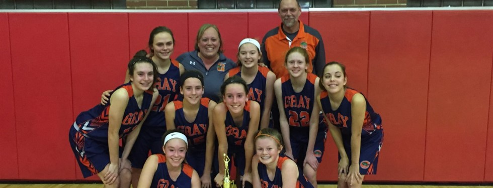 8th Grade Girls Tournament Winners!!