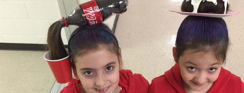 Soda or Donut? - Crazy Hair Day