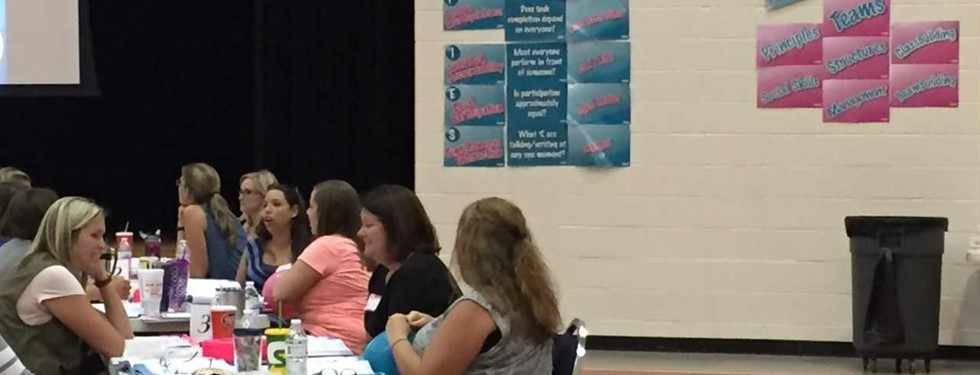 Kagan Training for Teachers here at NHES