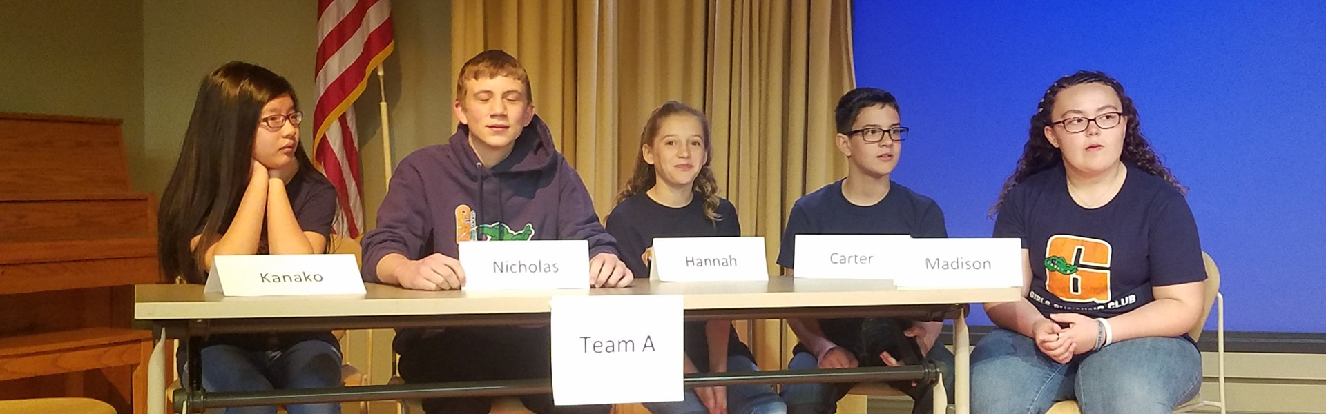 Boone County Battle of the Books Champions