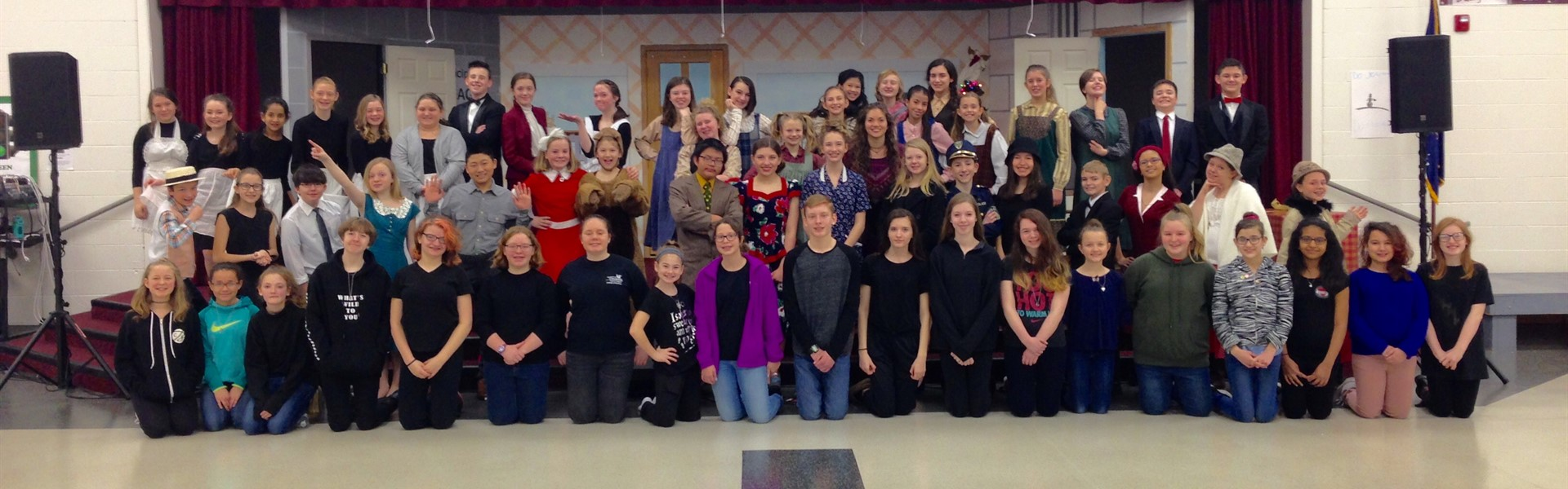 Annie Jr. Cast and Crew