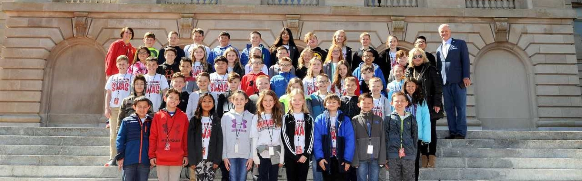 NH 5th Grade goes to Frankfort